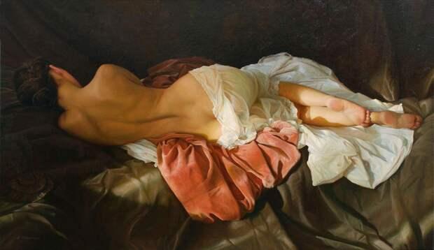 Женское очарование в нежных картинах.