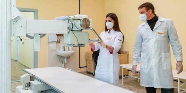 Более 80 процентов диагностического оборудования в столичном здравоохранении цифровое. Фото: Д. Гришкин mos.ru