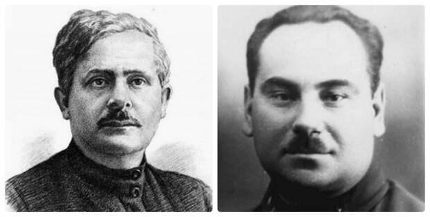 Авель Енукидзе и Рудольф Петерсон