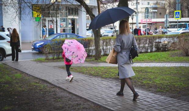 Пасмурная идождливая погода ожидается вНижнем Новгороде