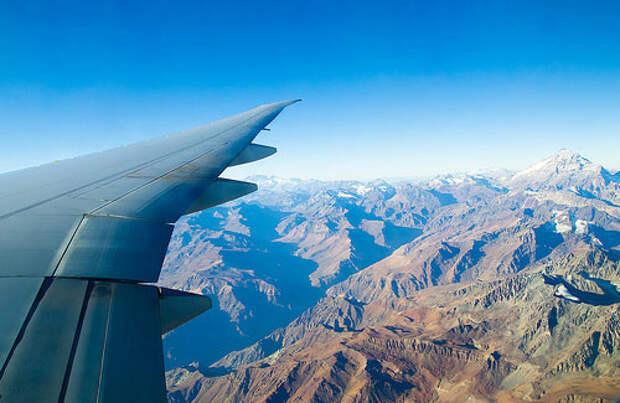 Как фотографировать из самолета