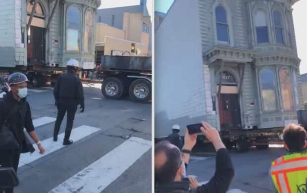 Особняк XIX века в Сан-Франциско переместили на новое место: что появится вместо него - видео