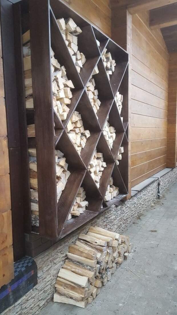 Indoor wirewood