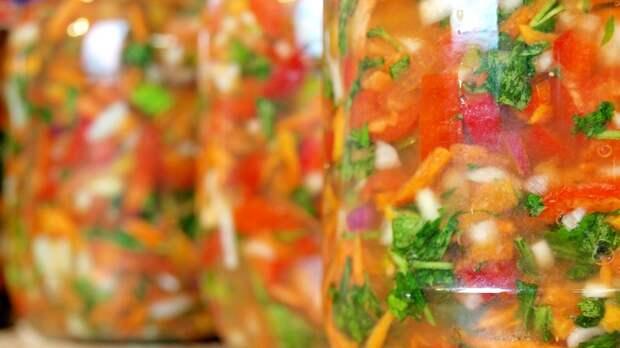 сырая овощная заправка на зиму