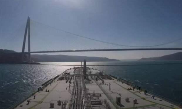 Береговая охрана Турции заявила о двух инцидентах с российскими сухогрузами в Босфоре с начала суток
