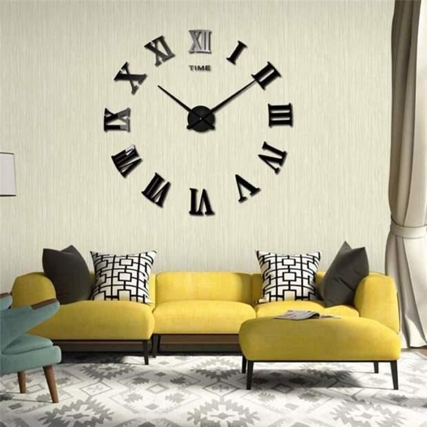 Часы в интерьере фото 4