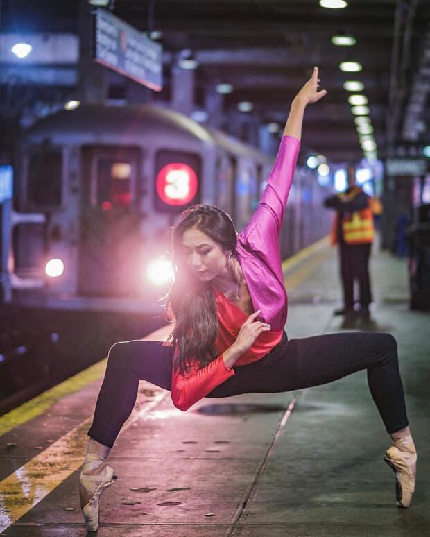 Омар З. Роблес фотографирует танец-2