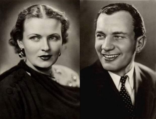 Надежда Чередниченко и Иван Переверзев – главные герои кинокартины «Первая перчатка». В 1947 году они познакомились на съемках и поженились. знаменитости, кино, ссср, супружеские пары, факты