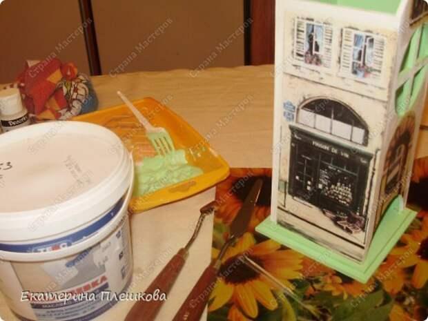 Декор предметов Мастер-класс 8 марта День рождения Декупаж МК Чайного домика Бумага Дерево Крупа фото 17