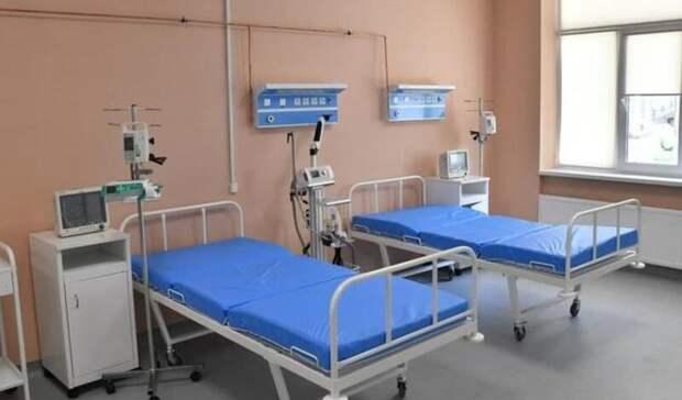 В Саратовской области занято 94% коек для больных ковидом