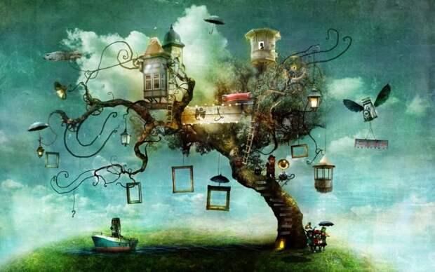 Иллюстрации на грани сна и реальности