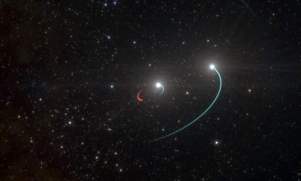 Астрономы нашли ближайшую к Земле черную дыру