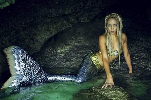 Ханна Фрейзер — настоящая русалка, которая вышла из морской пучины