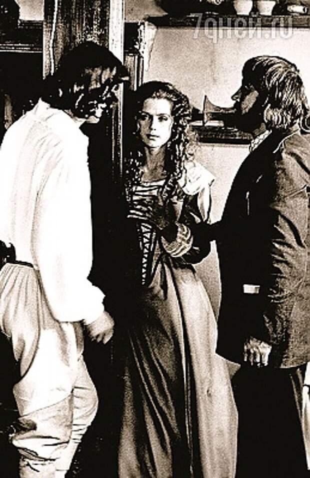 С Алферовой и Боярским Фото:Из архива Г. Юнгвальд-Хилькевича