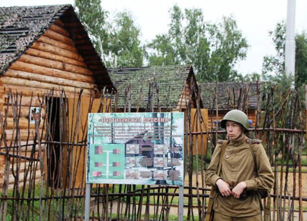 На МВТФ «Армия-2021» в Чите зрителям будет представлена воссозданная «Партизанская деревня»