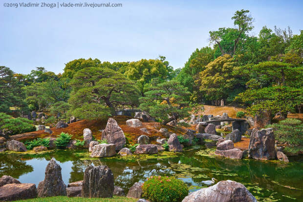 Японские сады как произведения искусства