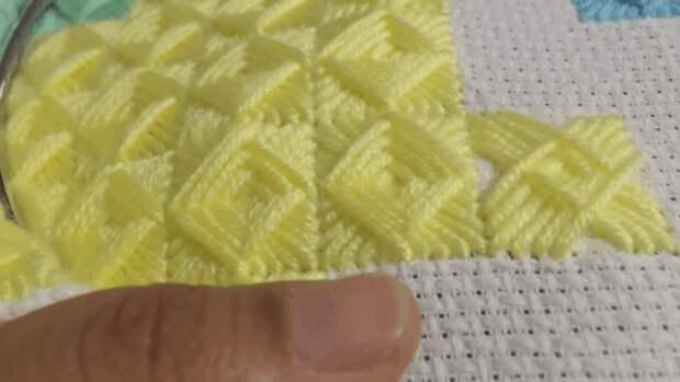 Флорентийская объемная вышивка: простая техника, позволяющая создавать уникальные вещи