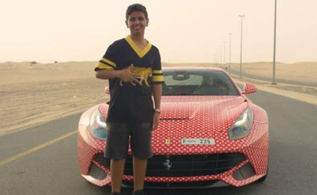 15-летний мажор закамуфлировал Ferrari под сумку Louis Vuitton