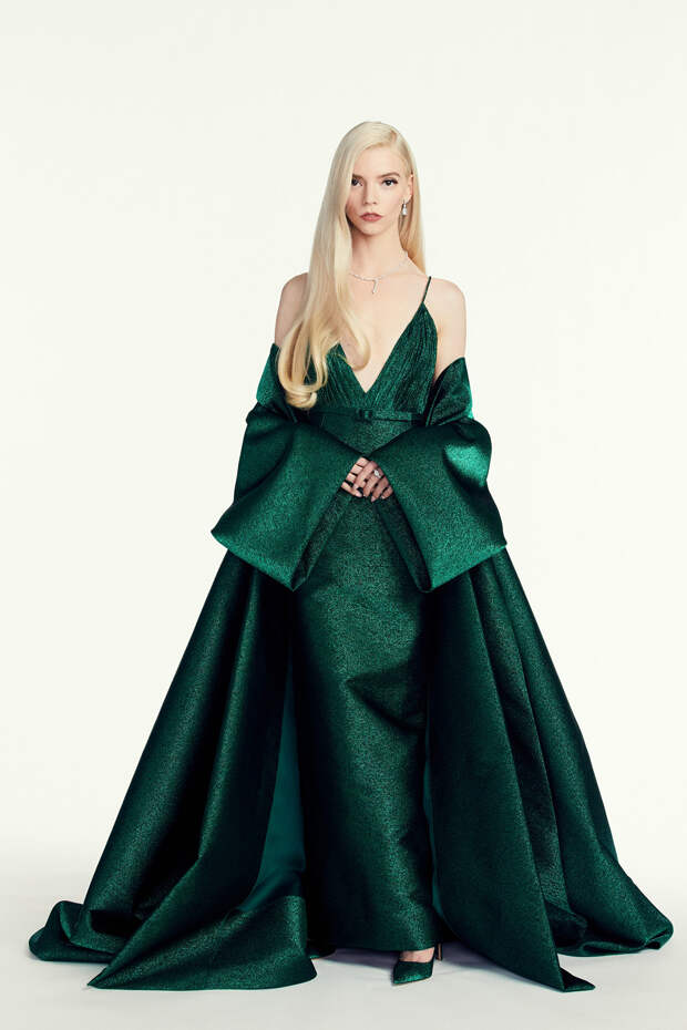 Аня Тейлор-Джой в Dior Золотой глобус 2021