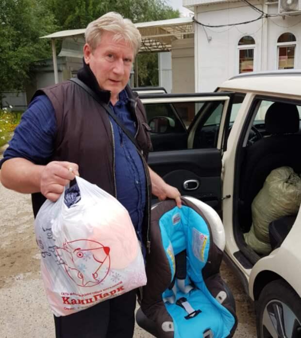 Волонтеры оказали помощь многодетным семьям из Куркина