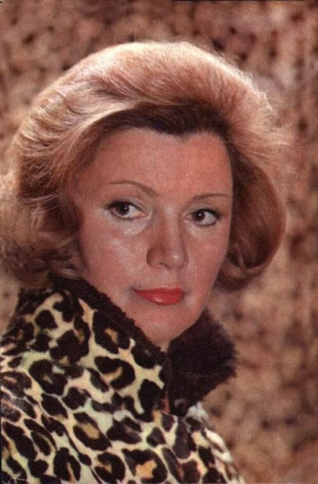 Как выглядела в юности прекрасная актриса, воплотившая трагический образ тети «Афони»