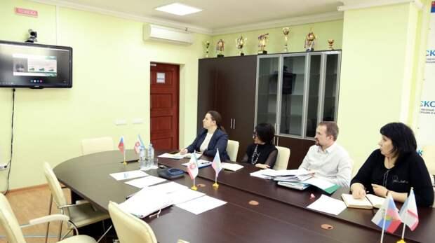 Руководство Госкомрегистра в формате видеоконференцсвязи приняло участие в коллегии Росреестра