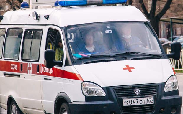 После пожара в Сасовском районе госпитализировали пожилого мужчину
