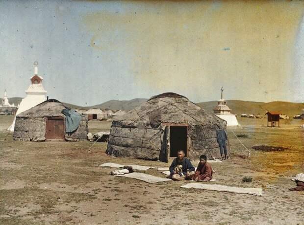 Монголия в 1913 году