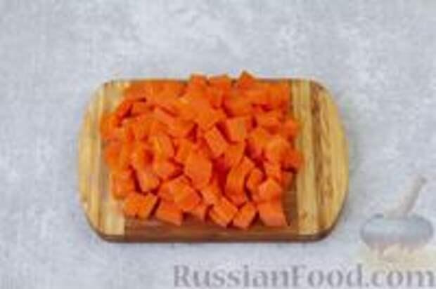 Фото приготовления рецепта: Острая морковь в горчичном масле - шаг №2