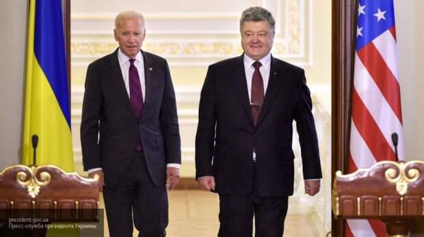 """Байден назвал Порошенко """"отцом нации"""" и сравнил Трампа с собакой"""
