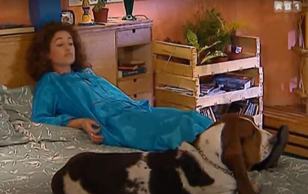 """Её даром хотели бы обладать многие :) Фото: кадр из """"Карин и её собака"""""""