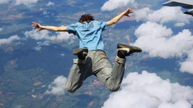 Как выжить припадении согромной высоты