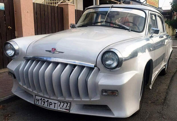 Берегите глаза: Нелепая попытка превратить ГАЗ-21 «Волга» в спортивный автомобиль