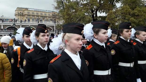Гости придут с экскурсией к кадетам на Волжский бульвар
