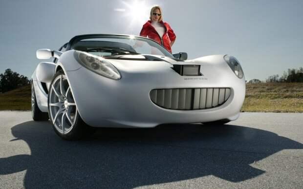 Эта машина явно осознаёт свою крутость авто, машины, прикол, фото, эмоции