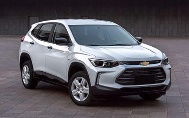 Рассекречен новый маленький кроссовер Chevrolet