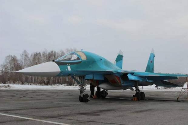 Компания «Сухой» завершила долгосрочный контракт на поставку Су-34