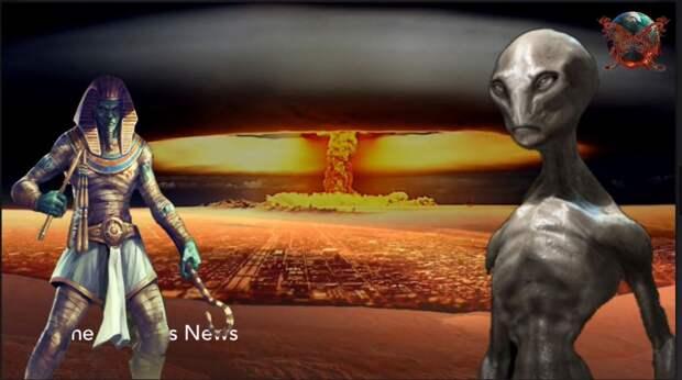 Ядерные войны былых цивилизаций