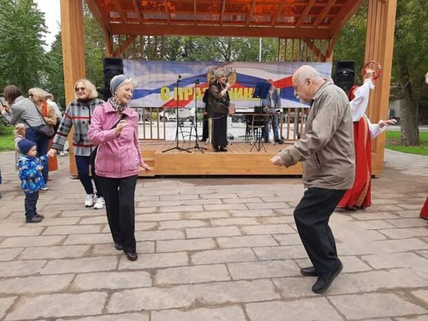 Жители Лосинки активно отпраздновали День города