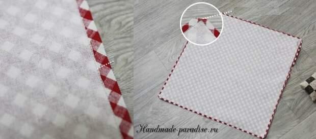 как сшить корзинку в технике оригами (3)
