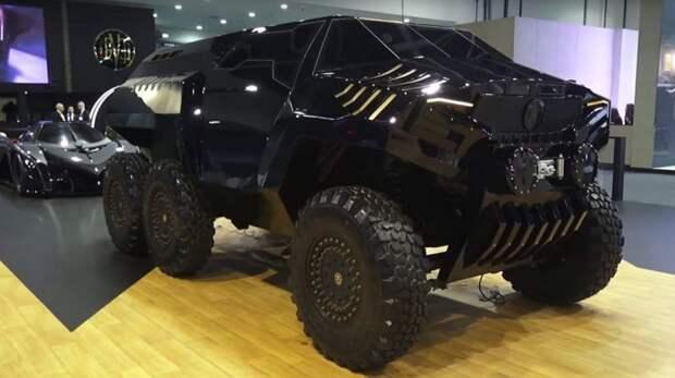 Также компания Devel Motors,представила прототип шестиколесного внедорожника — Devel Sixty. Цена машины — 450 000 долларов. Devel, Devel Sixteen, авто, автомобили, внедорожник, гиперкар, спорткар, суперкар