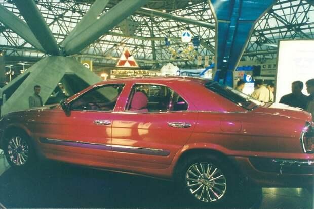 ГАЗ 3111. Еще один красивый, но неудавшийся проект ГАЗа. автовыставка, автосалон, выставка, ретро фото