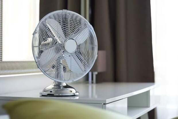 Вентилятор сдует пыль с мебели, а кондиционер засосет ее в себя / Фото: pioner-22.ru