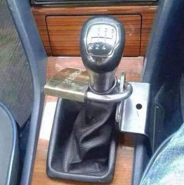 Этот автомобиль точно никуда не денется в мире, вещи, кража, люди, прикол, юмор