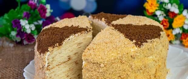 Покупаю недорогую сметану. Торт без выпечки из трех ингредиентов, плюс крем, теперь готовим постоянно к чаю