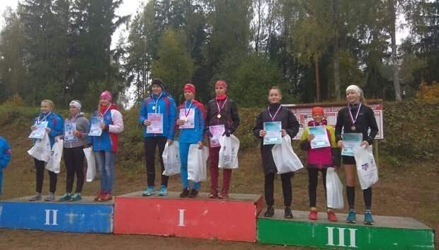 Биатлонисты из Подольска получили золото, серебро и бронзу на первенстве РФ