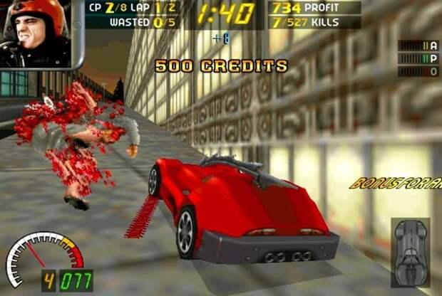 История давилова 90-е, Stainless Games, carmageddon, джойстик, игра, компьютер