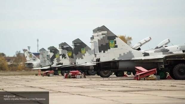 Модернизация по-украински: Миг-29 растянули на детали на Львовском ремонтном заводе
