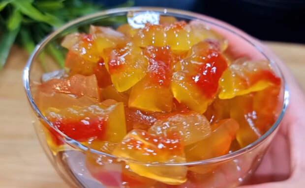 Попробуйте поварить арбузные корочки в сахарном сиропе 1 час и вкуснейший десерт будет готов