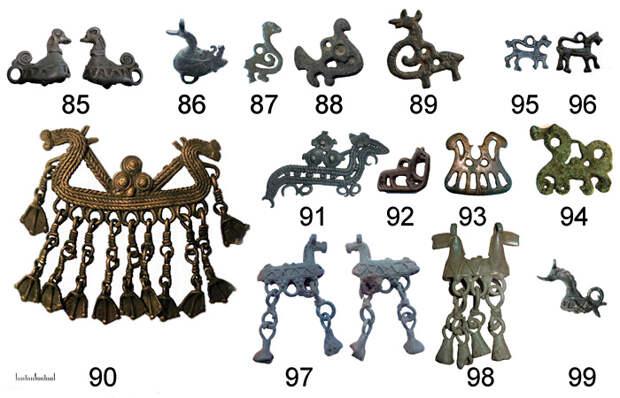 Древнерусские привески и амулеты XI – XIII веков